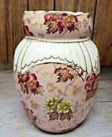"""Antique 1890's GRIMWADE BROS """"Vienna"""" Vase Staffordshire, England Red / Pink"""