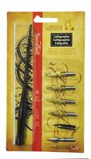 Speedball Art Products 6-Nib Calligraphy Lettering Set Drawing