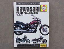 1985-2004 Kawasaki Vulcan VN 700 750 800 HAYNES REPAIR MANUAL