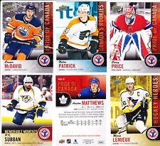 2018 NHCD National Hockey Card Day set 17 cards McDAVID MATTHEWS PATRICK PRICE