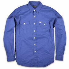 Ralph Lauren Herren Hemd Shirt Freizeithemd Gr.L (wie XL) Beach Twill Blau 94117