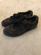 Mens Prada Brown Suede Trainers 7.5