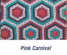 Pink Carnival Fashion Fly Mask