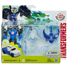 Transformers Robots in Disguise STRONGARM and Mini-Con SAWTOOTH Battle Pack