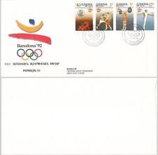 Armenia, 1992, cover, Barcelona. c9512
