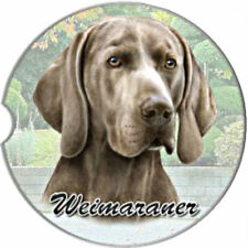 New listing E&S Pets Absorbent Car Coaster Dog Breed Stoneware Weimaraner Puppy