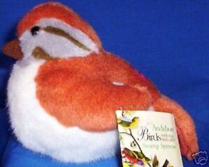 AUDUBON WILD REPUBLIC SWAMP SPARROW SONG BIRD NWT SOUND