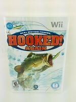 Hooked Again: Real Motion Fishing (Nintendo Wii, 2009) Brand New Sealed