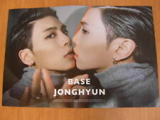 JONGHYUN (SHINee) - Base (Ver. B) [OFFICIAL] POSTER *NEW* K-POP