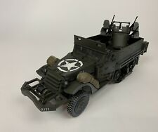 21st Century Toys Ultimate Soldier 1:18 Scale WWII Halftrack Vehicle Pre-Owned