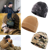 Army Military Commando Tactical Warm Beanie Hat Combat Polar Fleece Watch Cap