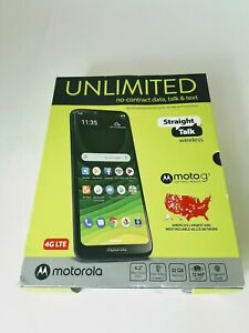 Straight Talk Moto g7 Optimo Maxx Prepaid Smartphone Brand New Sealed