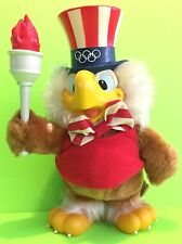 Vintage 1984 Olympic Sam The Eagle Plush Stuffed Animal By Applause Gift