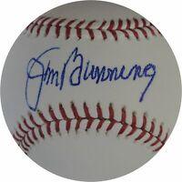 Jim Bunning Signed Autographed Major League Baseball Philadelphia Phillies