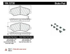 Disc Brake Pad Set Front Centric 106.12730