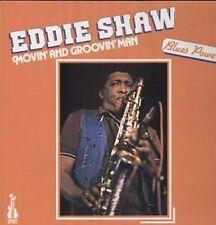 Eddie shaw, Movin and Groovin on, rare Isabel LP 1983, r & b saxophone