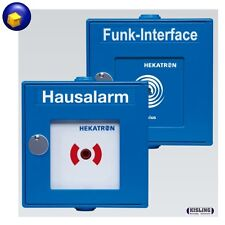 Hekatron Funk Handtaster Interface Rauchmelder Genius Hausalarm Funkhandtaster