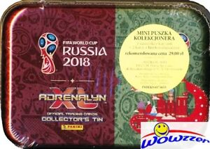 2018 Panini Adrenalyn XL FIFA World Cup RUSSIA TIN-24 Cards+2 LIMITED EDITION!