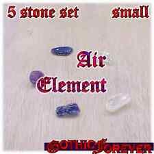 Air Element Honor Healing Gemstone Kit Set of 5 SMALL 10mm Stones