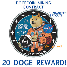20 DOGECOIN🚀 20 DOGE coins - CRYPTO MINING-CONTRACT Crypto Currency