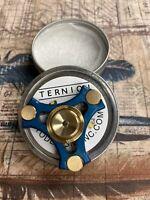 NTO Designs Ternion Revspin Tri Fidget Spinner - Brass and Aluminum EDC
