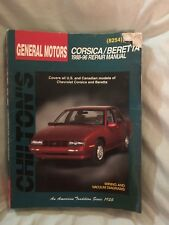 Chilton Repair Manual Chevrolet Corsica & Beretta, 1988-96 (8254)