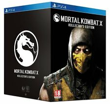 Mortal Kombat X Kollector Collector Edition PS4 Neuf New