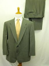 Givenchy Suit 46R Gray Pinstripe 2 Buttons Pants 42 x 28 Mens