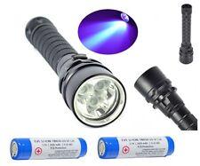 UFI pro Lámpara WF-701 LED 10 Vatios UV Geocaching,Seguridad Incl. 2x18650er