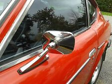 Datsun Z Series 240Z,260Z,280Z L&R DOOR MIRROR SET- GORGEOUS Easy Installation