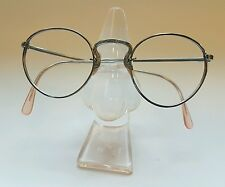 067dbe2054e Antique Vintage Silver Tone Frame Sunglasses 1950s Eyeglasses Retrò Very  Rare