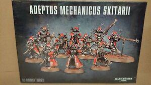 RARE Warhammer 40k 59-10 Adeptus Mechanicus SKITARII NEW/SEALED