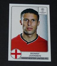 # 175 JOHNSEN NORGE MANCHESTER UNITED UEFA FOOTBALL CHAMPIONS LEAGUE 2001-2002