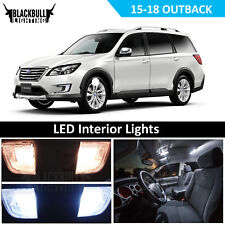 White LED Interior Light Package Accessories Kit for 2015-2018 Subaru Outback