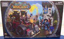 NEW! Mega Bloks World Of Warcraft Demolisher Attack (299 pcs #91026) {2800}