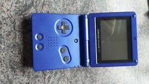 gameboy advance sp blau