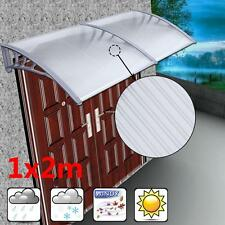 WINDOW DOOR Canopy Porch Shelter Roof Cover Awning Resist Sun Rain Snow Rust
