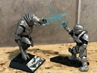 Halo Mega Construx Heroes Series 11 Ripa Moramee AND Stormbound Hunter GLB59
