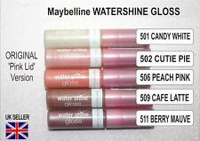 Maybelline Water Shine Gloss 2 Shades. 208 Cutie Pie