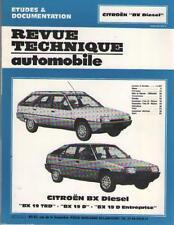 RTA Revue Technique Automobile Citroen BX Diesel 19 TRD 19 D BX 19 D Entreprise