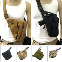 Concealed Tactical Storage Gun Holster Left Right Shoulder Anti-theft Chest Bag
