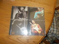 JIMI HENDRIX 4 CD SET STAGES NO BOX NO BOOKLET