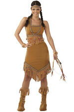 Brand New Native American Indian Princess Adult Costume