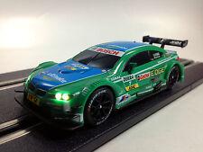 BMW M3 DTM vert bleu Carrera GO avec la lumière 64041 A. Farfus n° 7 LED