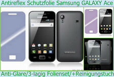 2 x anti reflex glare láminas protectoras de pantalla Samsung Galaxy Ace s5830 mate móvil *