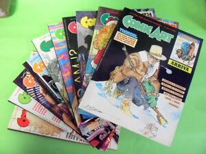 COMIC ART DAL N°31 AL N°40.1987-1988