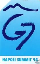 SIP - GOLDEN N° 348 - NAPOLI SUMMIT G7 - USATA
