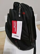 "Swissgear Wenger Synergy Pro 16""-Laptop Backpack with Table Pocket-604965-Black"