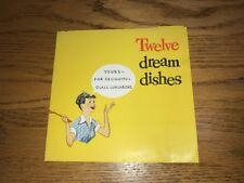 1950's Twelve Dream Dishes General Foods Minute Rice Recipe Portfolio