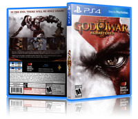 God of War III Remastered - Replacement PS4 Cover and Case. NO GAME!!